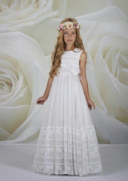 Modelos actuales de vestidos de primera comunion
