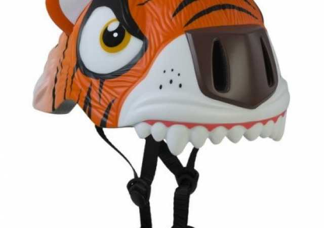 CASCO AJUSTABLE NIÑO TIGRE