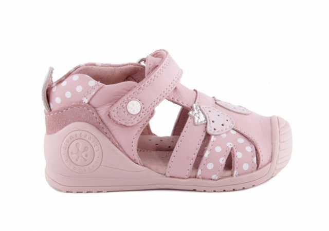 Zapatos rosas Biomecanics para bebé kOJCebe