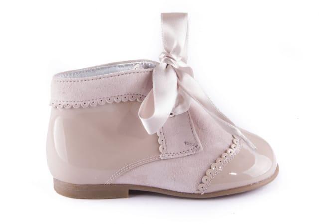 24768f83eae Color Tipo Piel Botas Azul Preandante Zapato Estilo Niña Comprar qxBpPZ