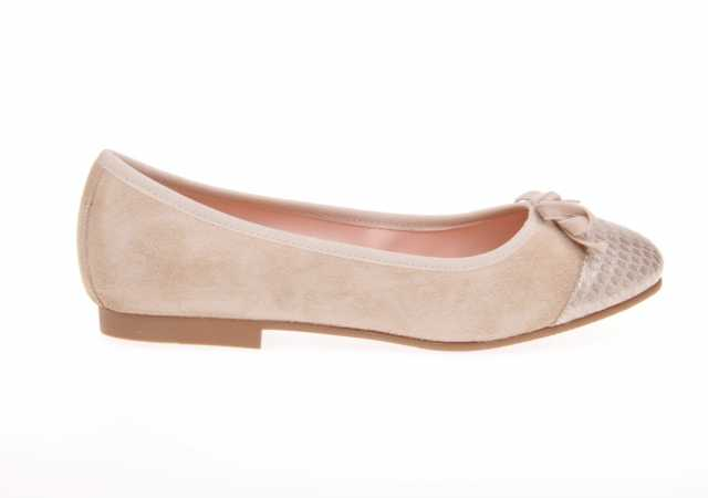 MANOLETINAS RUTH SHOES METALIZAS EN PIEL