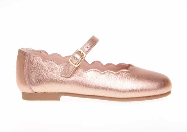 MERCEDES RUTH SHOES METALIZADAS CON HEBILLA