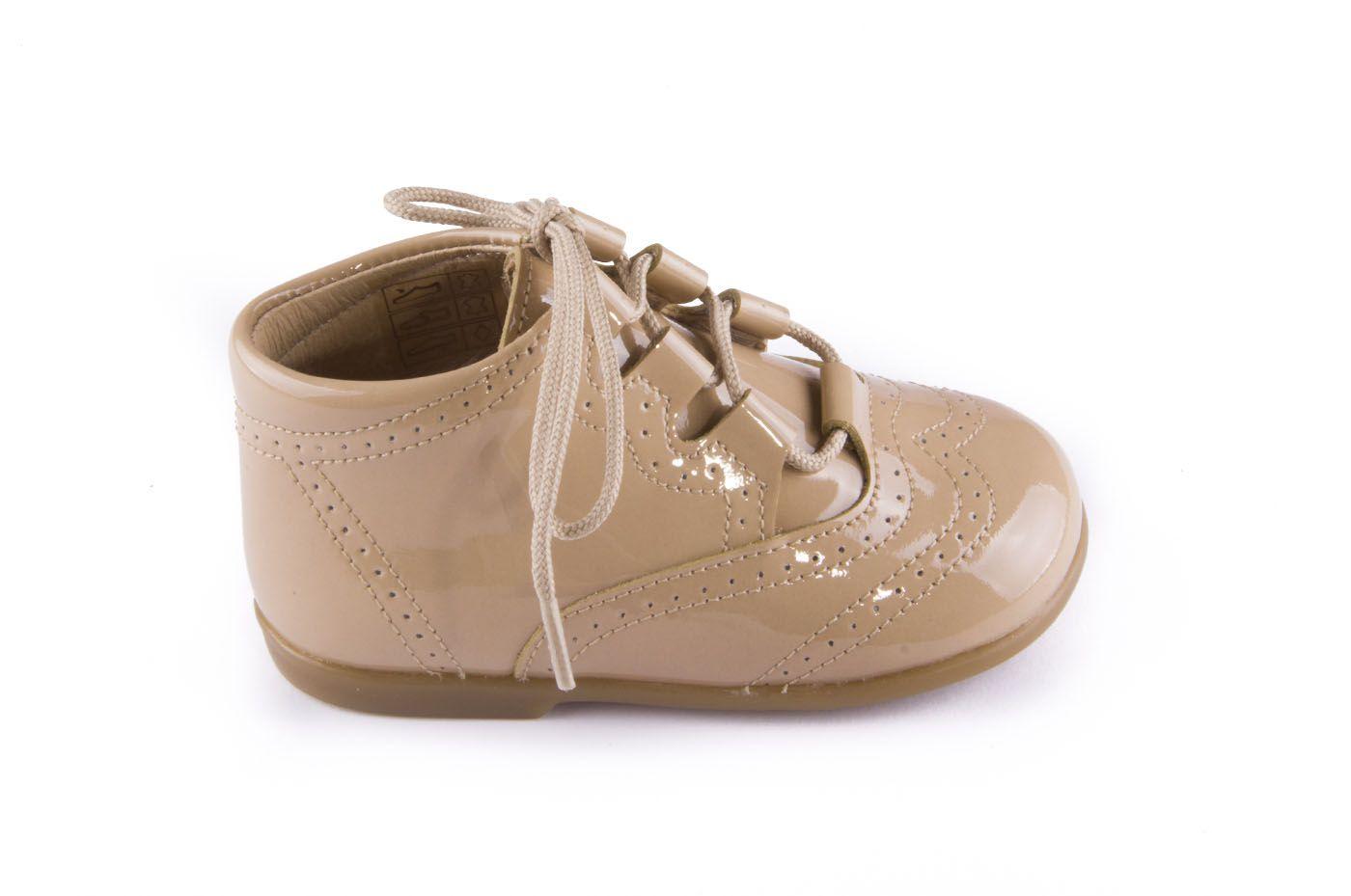 Comprar Niño Color Tipo Estilo Botas Camel Charol Preandante Zapato 9I2DHWE