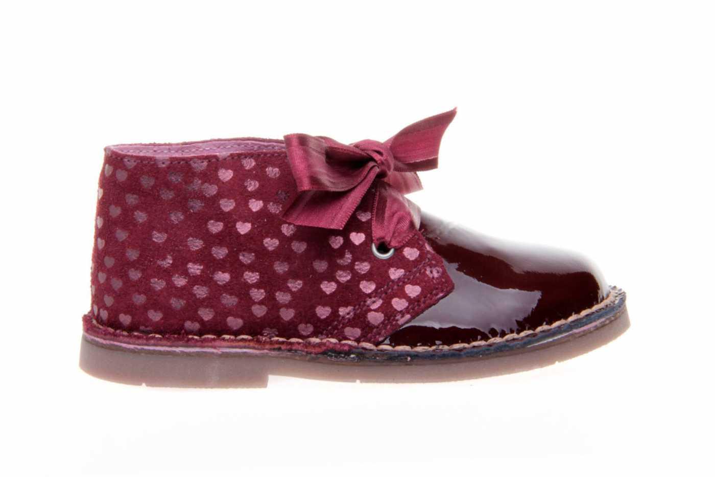 9f607b60d Comprar zapato tipo JOVEN NIÑA estilo BOTAS COLOR BURDEOS CHAROL ...