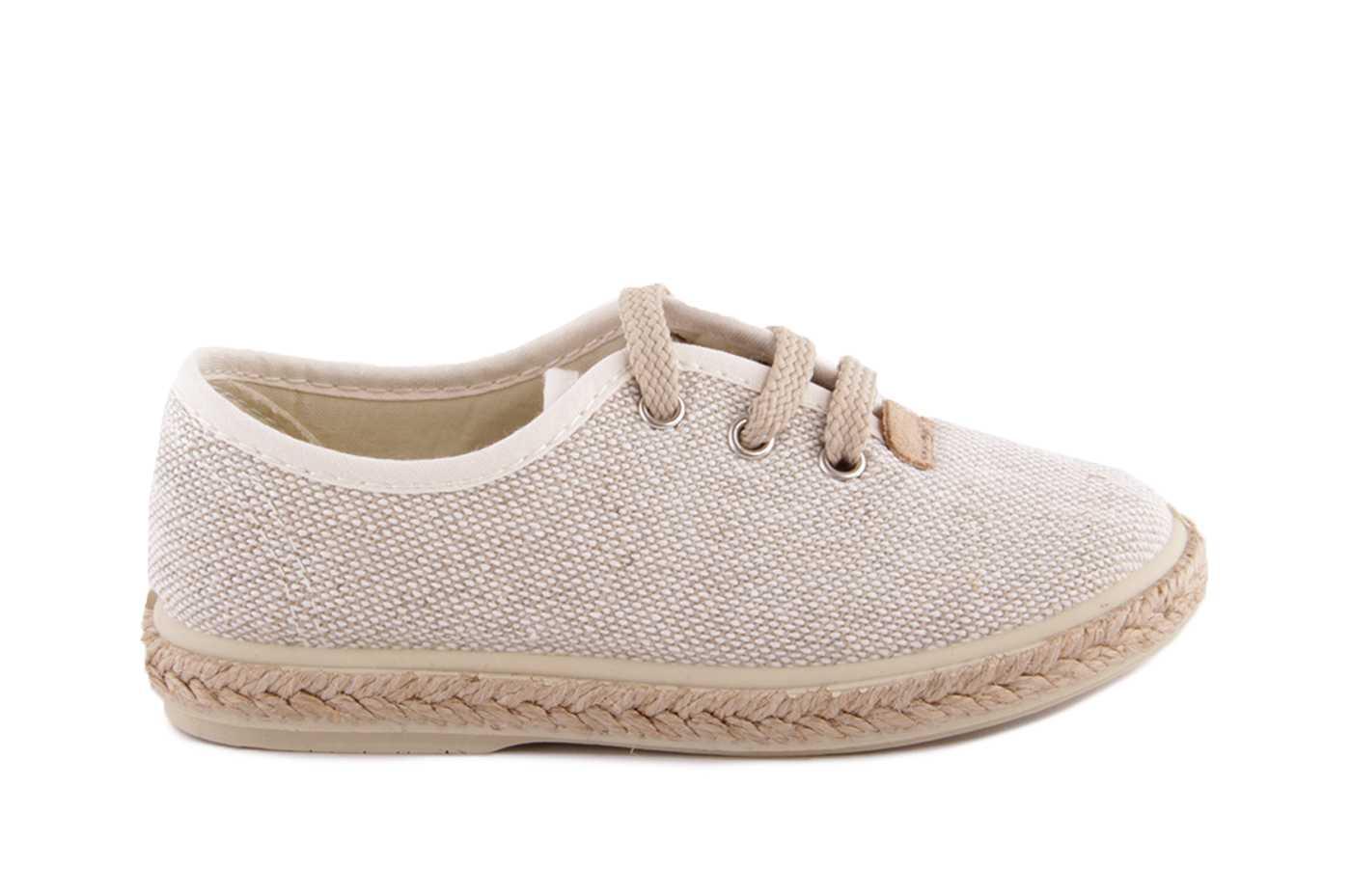 4ece8cd76 Comprar zapato tipo JOVEN NIÑO estilo LONA COLOR BEIGE TEXTIL | LONA ...