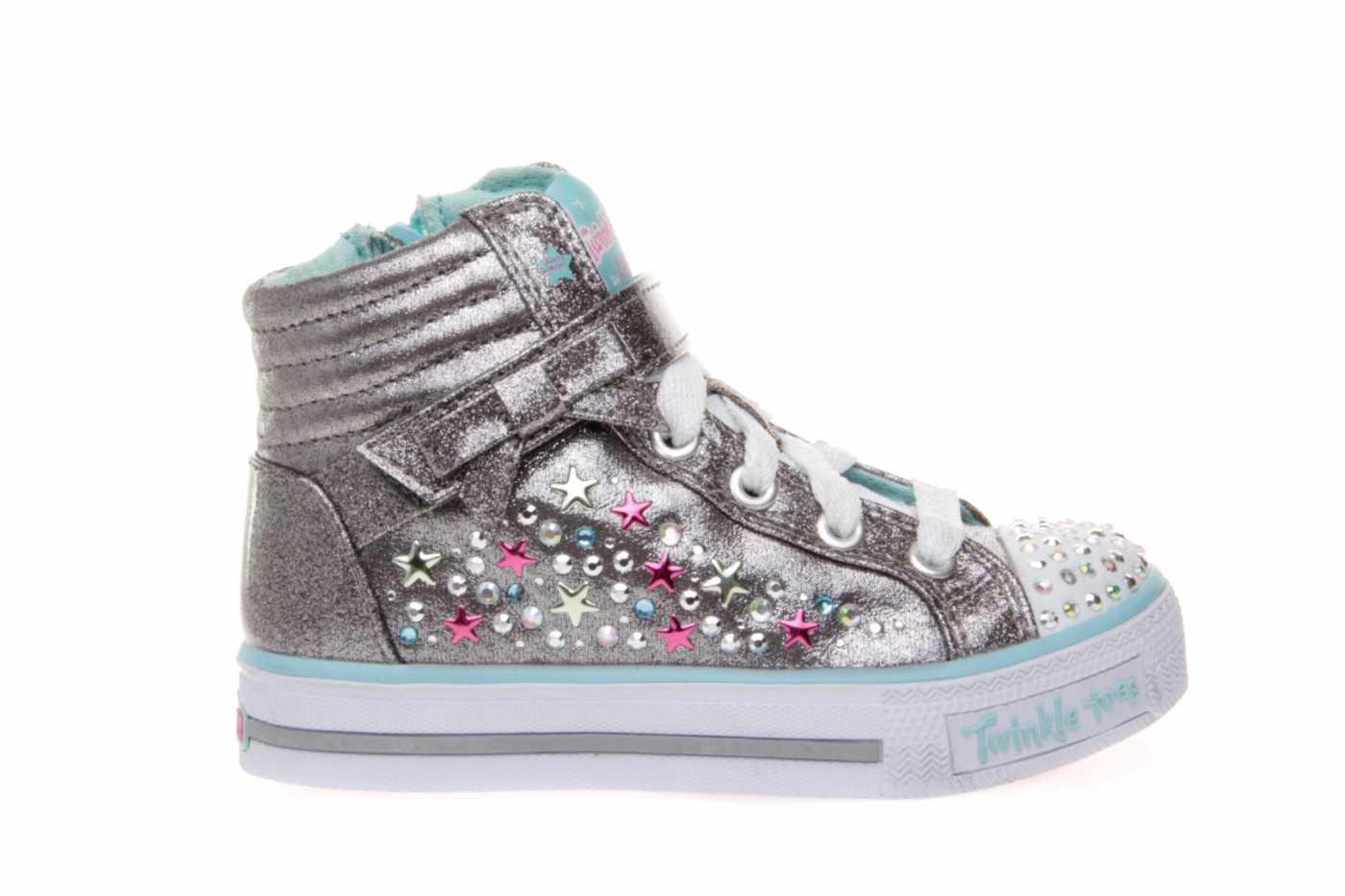 35378c78420 Comprar zapato tipo JOVEN NIÑA estilo LONA COLOR PLATA METALIZADO ...