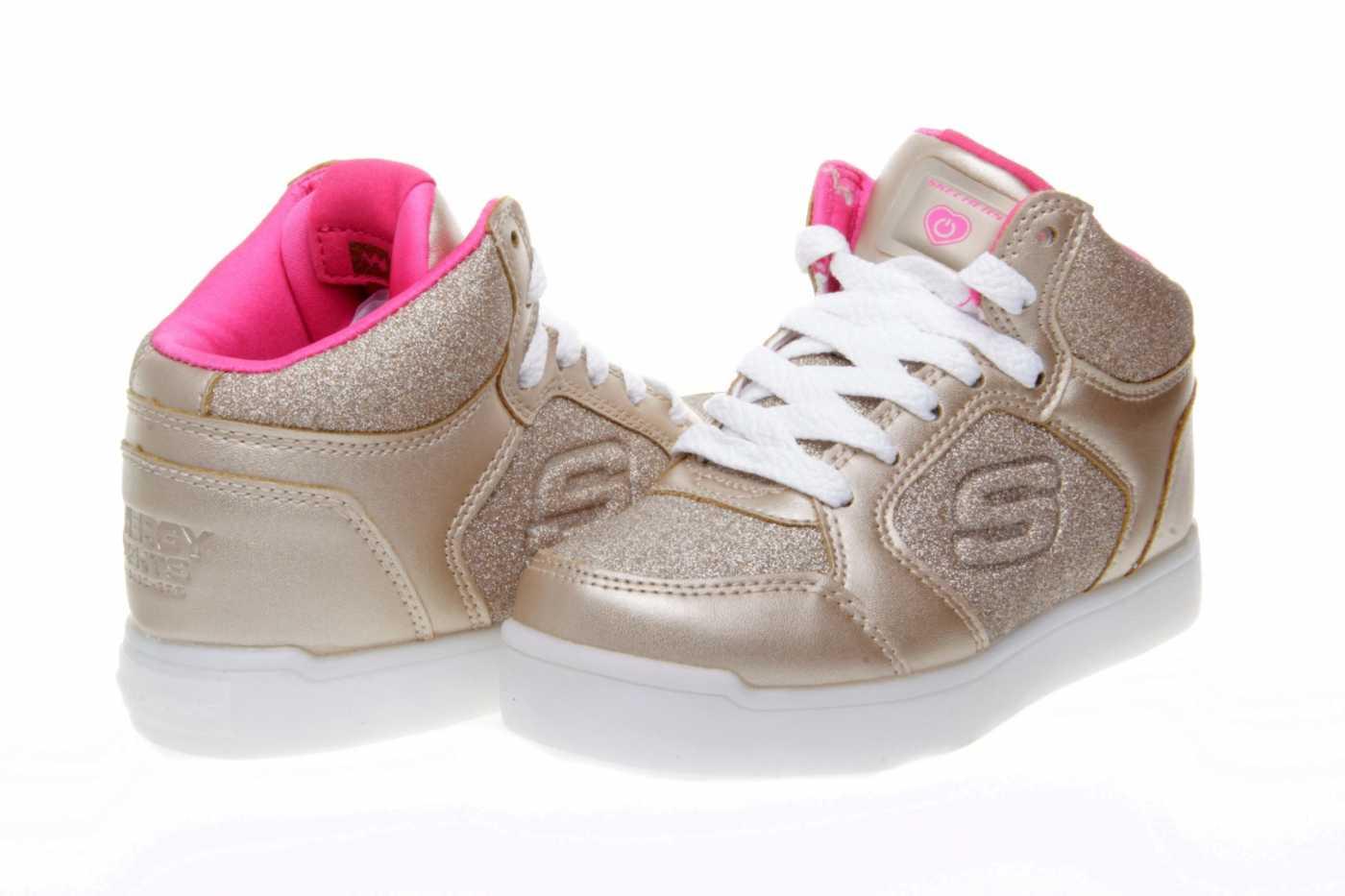sacerdote antártico insecto  Comprar zapato SKECHERS para JOVEN NIÑA estilo BOTAS color ORO METALIZADO