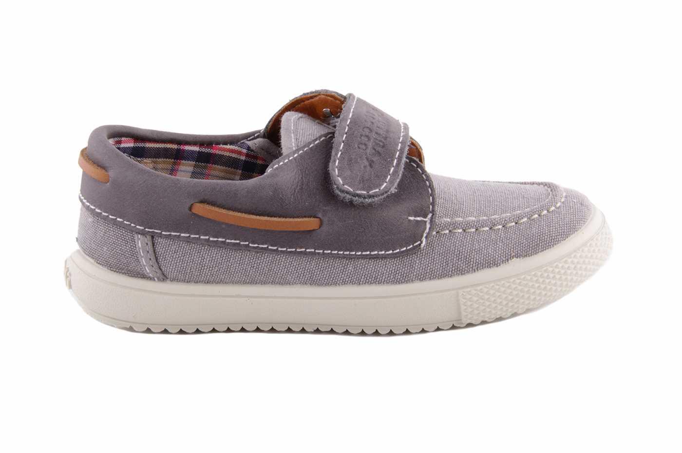 8ceae78c9f8 Comprar zapato tipo JOVEN NIÑO estilo LONA COLOR GRIS TEXTIL ...