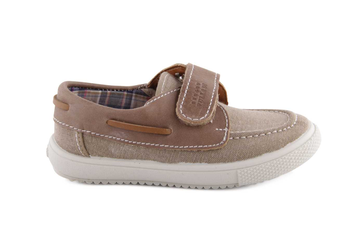6f9f598cc11a5 Comprar zapato tipo JOVEN NIÑO estilo LONA COLOR CAMEL TEXTIL ...