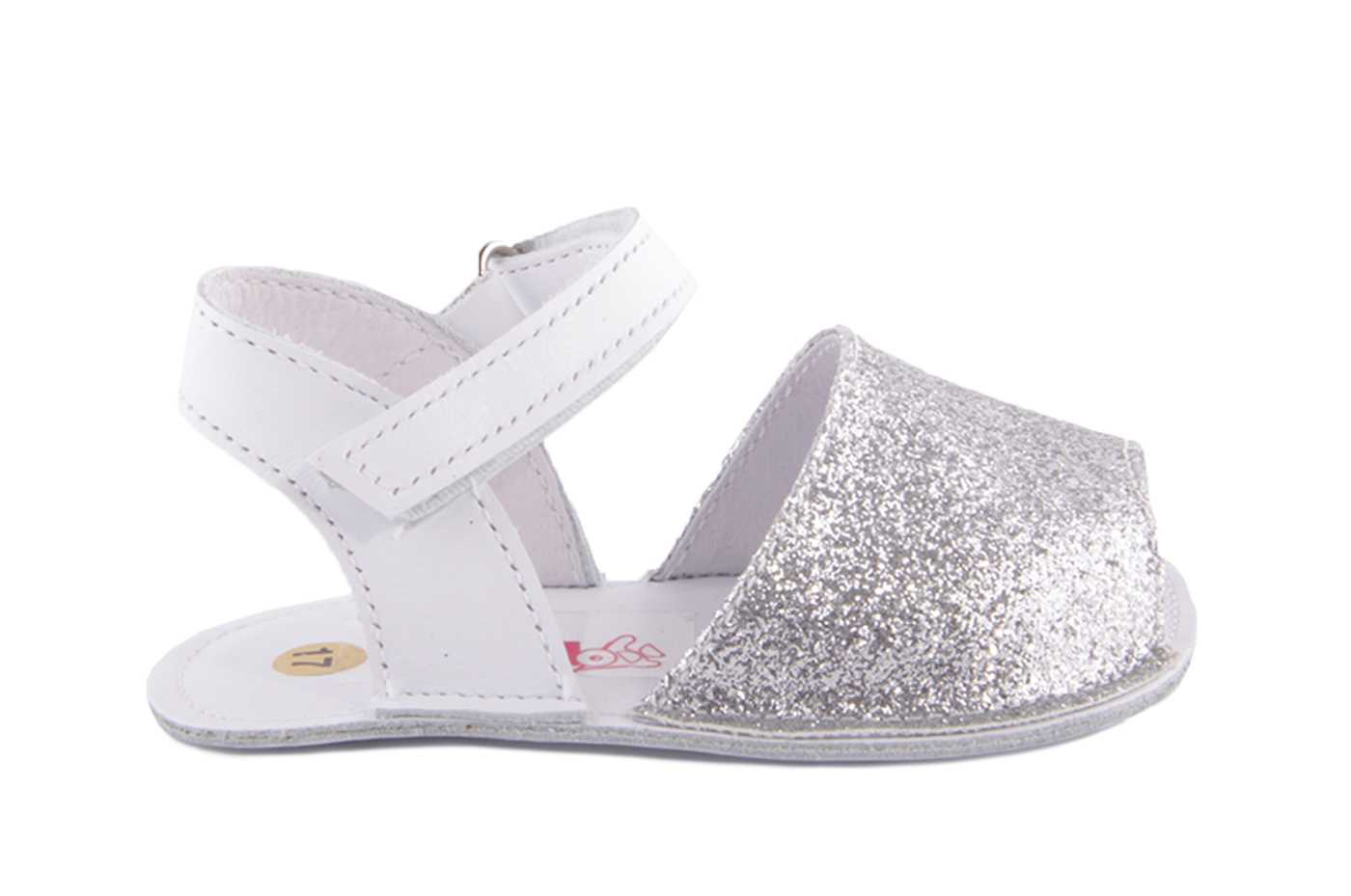 da2cfd0f9b Comprar zapato tipo BEBE NIÑA estilo SANDALIA COLOR PLATA PIEL ...