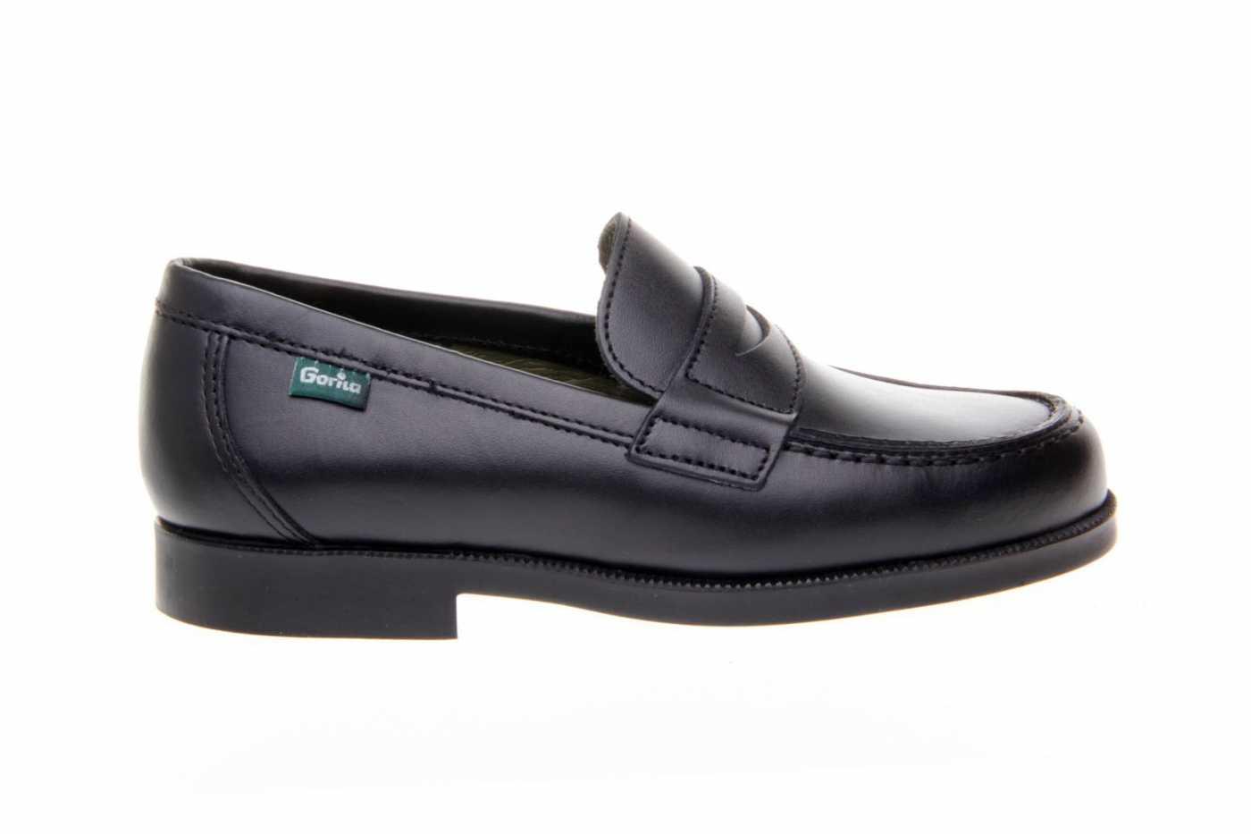 20689344e Comprar zapato tipo JOVEN NIÑO estilo MOCASIN COLOR NEGRO PIEL ...