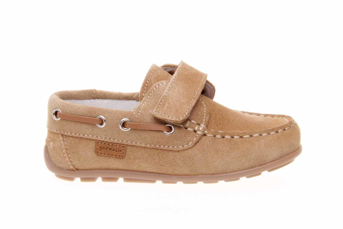 0f6ca989f Comprar zapato tipo JOVEN NIÑO estilo NAUTICO COLOR CAMEL SERRAJE ...