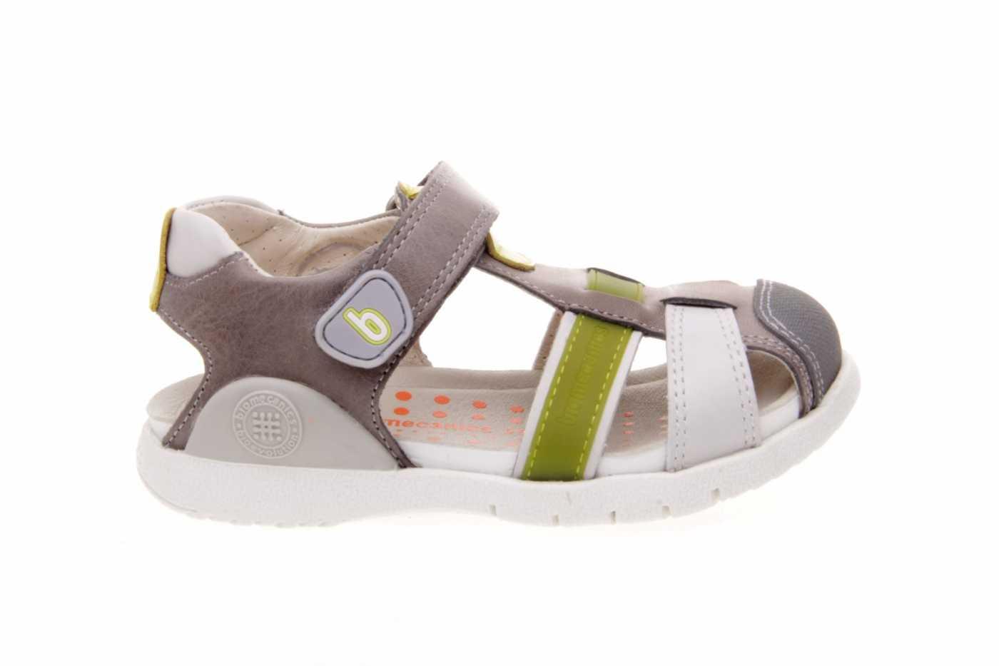 Sandalia Velcro Reforzada Y Con Niño Puntera Biomecanics nw0PNOX8k