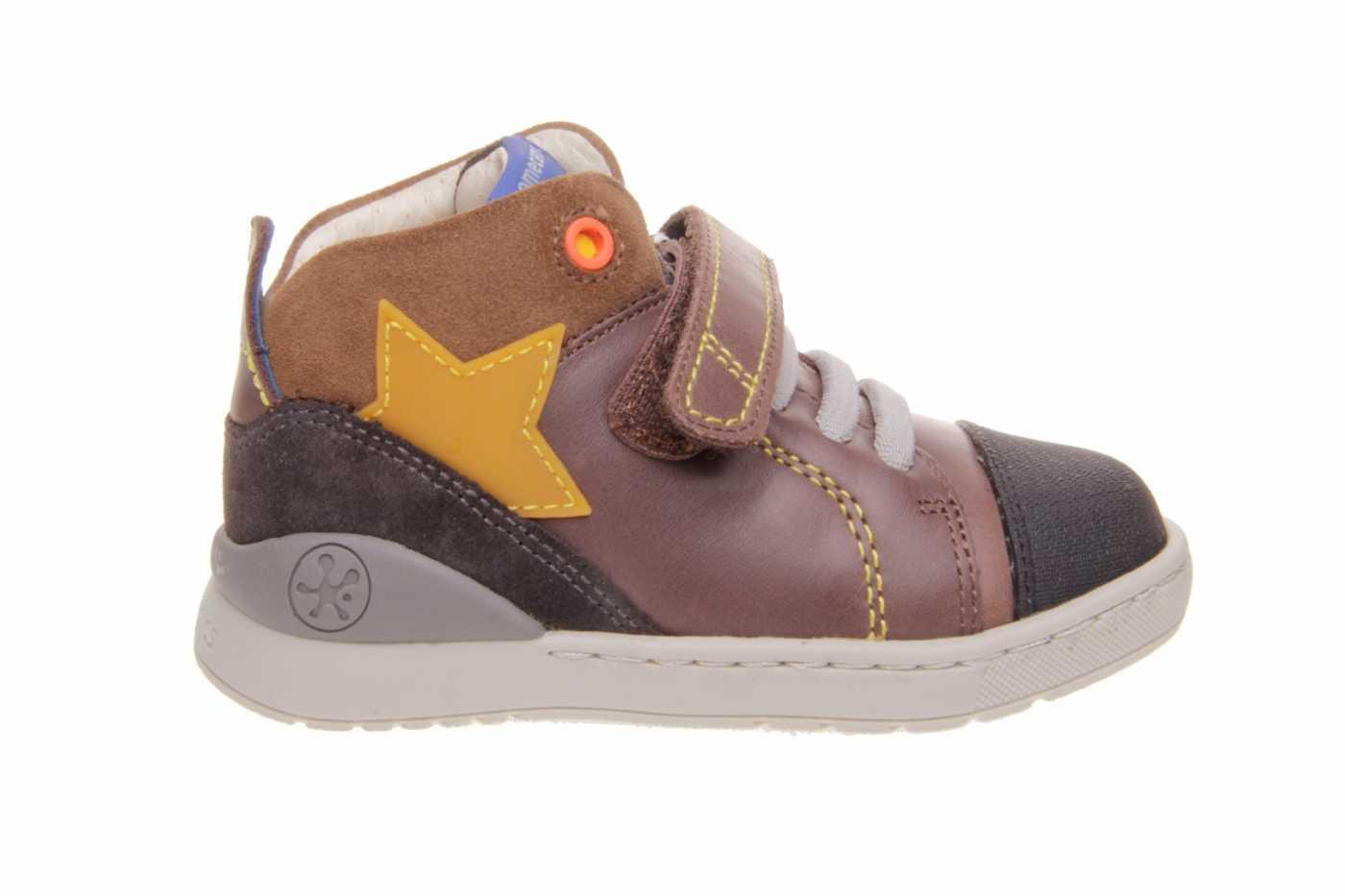 Dibujar disparar A rayas  Comprar zapato BIOMECANICS para JOVEN NIÑO estilo BOTAS color MARRON PIEL