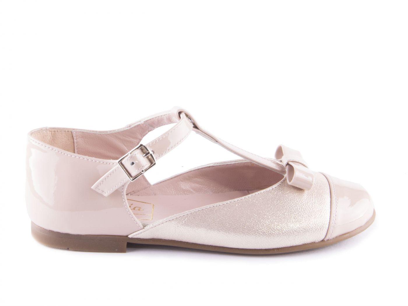 ff24f407d26 Comprar zapato tipo JOVEN NIÑA estilo MERCEDES COLOR ROSA METALIZADO ...