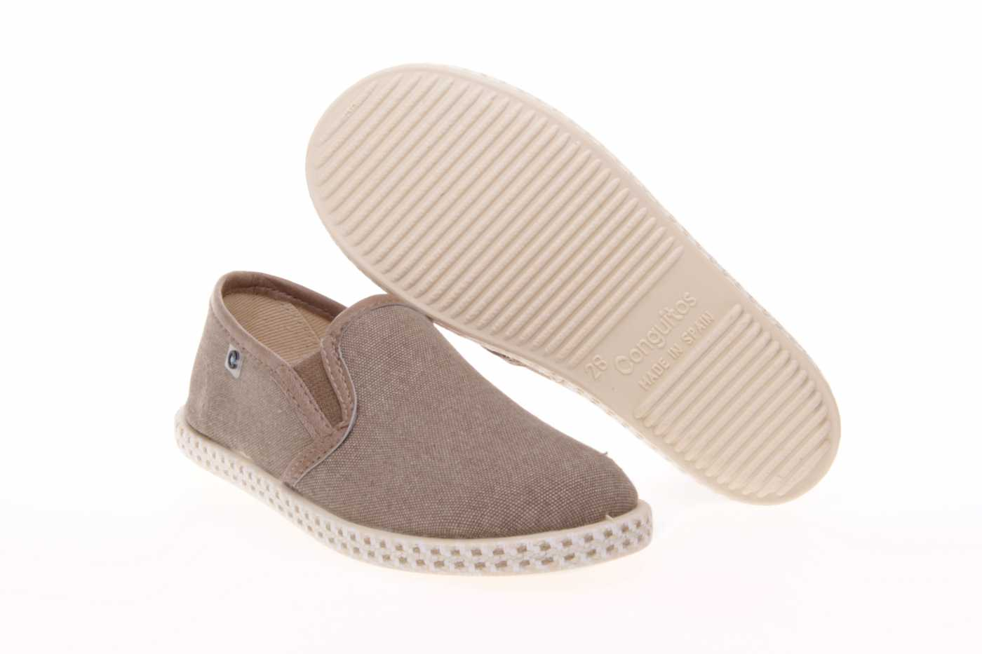 SLIP-ON/MOCASIN CONGUITOS NIÑO DE LONA