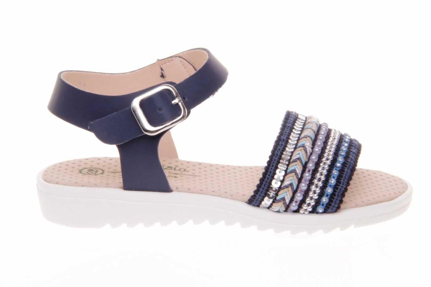 90e8d596ba7 Comprar zapato tipo JOVEN NIÑA estilo SANDALIA COLOR AZUL SINTETICO ...