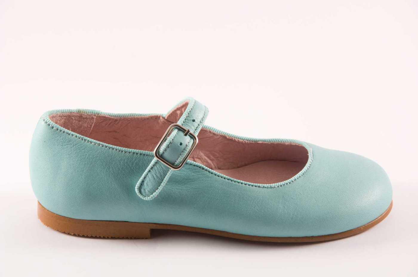 7c6b5bb1 Comprar zapato tipo JOVEN NIÑA estilo MERCEDES COLOR VERDE PIEL ...