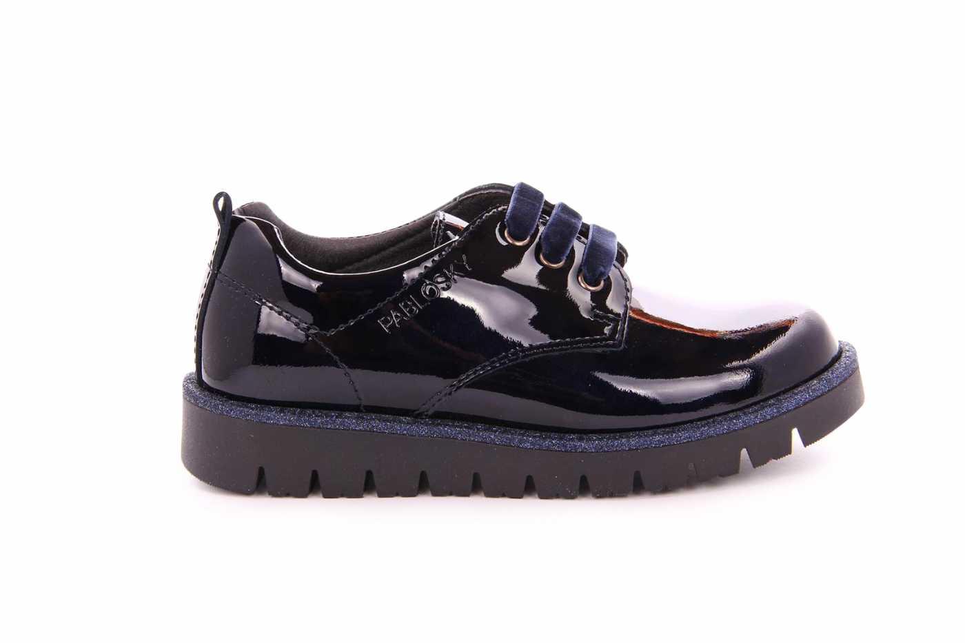 f80ec096a Comprar zapato tipo JOVEN NIÑA estilo BLUCHER COLOR AZUL CHAROL ...
