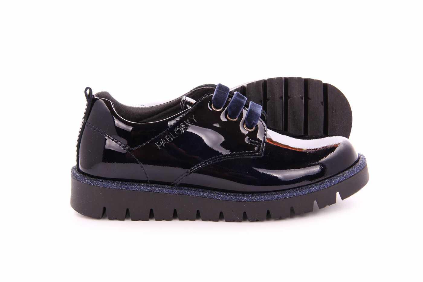 c88a7e405 Comprar zapato tipo JOVEN NIÑA estilo BLUCHER COLOR AZUL CHAROL ...