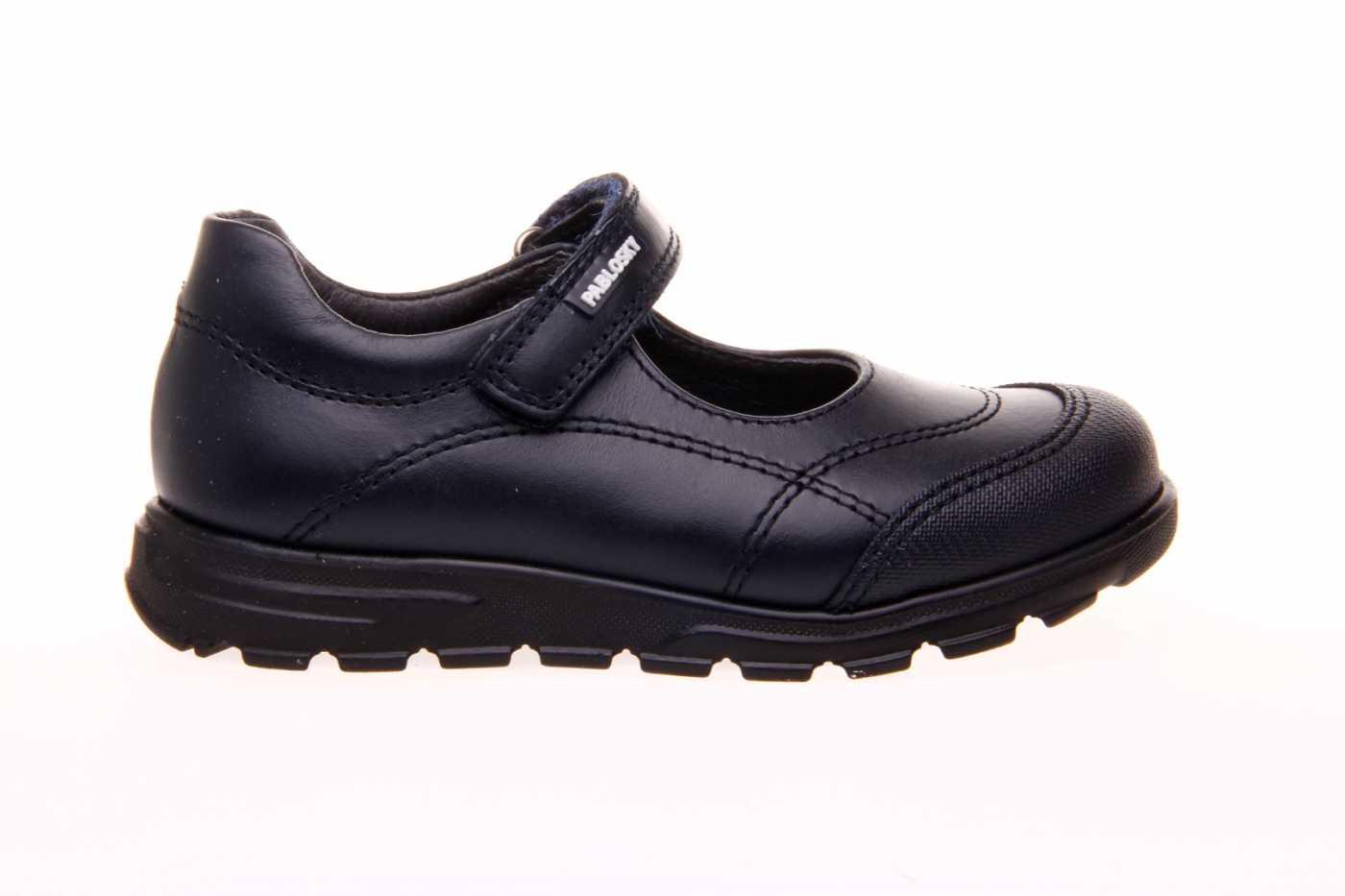 Zapatos colegiales para niña en piel de Pablosky