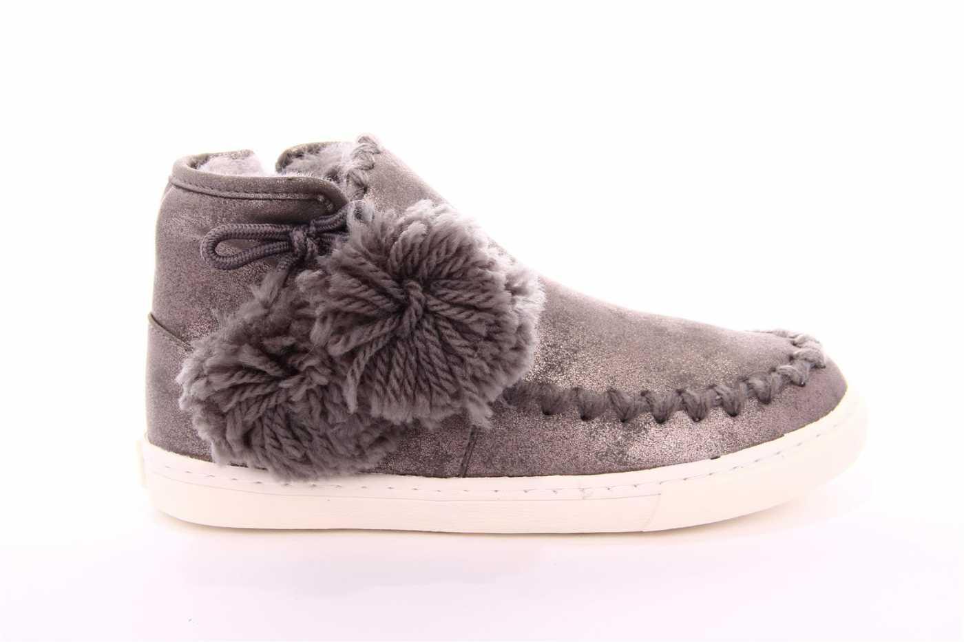 ac3ecdcf328 Comprar zapato tipo JOVEN NIÑA estilo BOTINES-BOTA ALTA COLOR PLATA ...