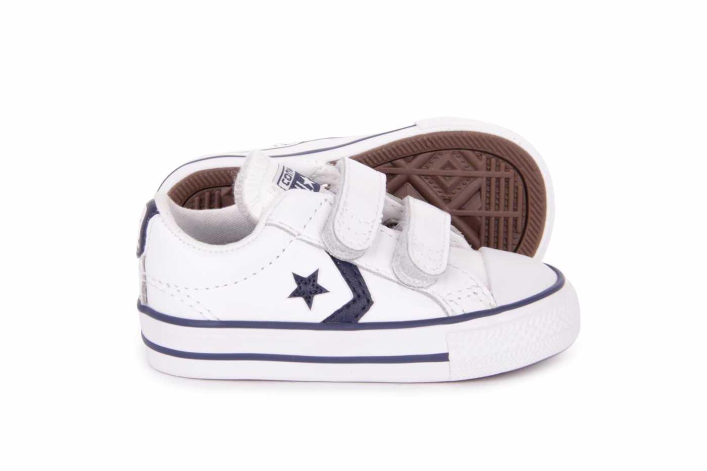 zapatillas velcro niños converse