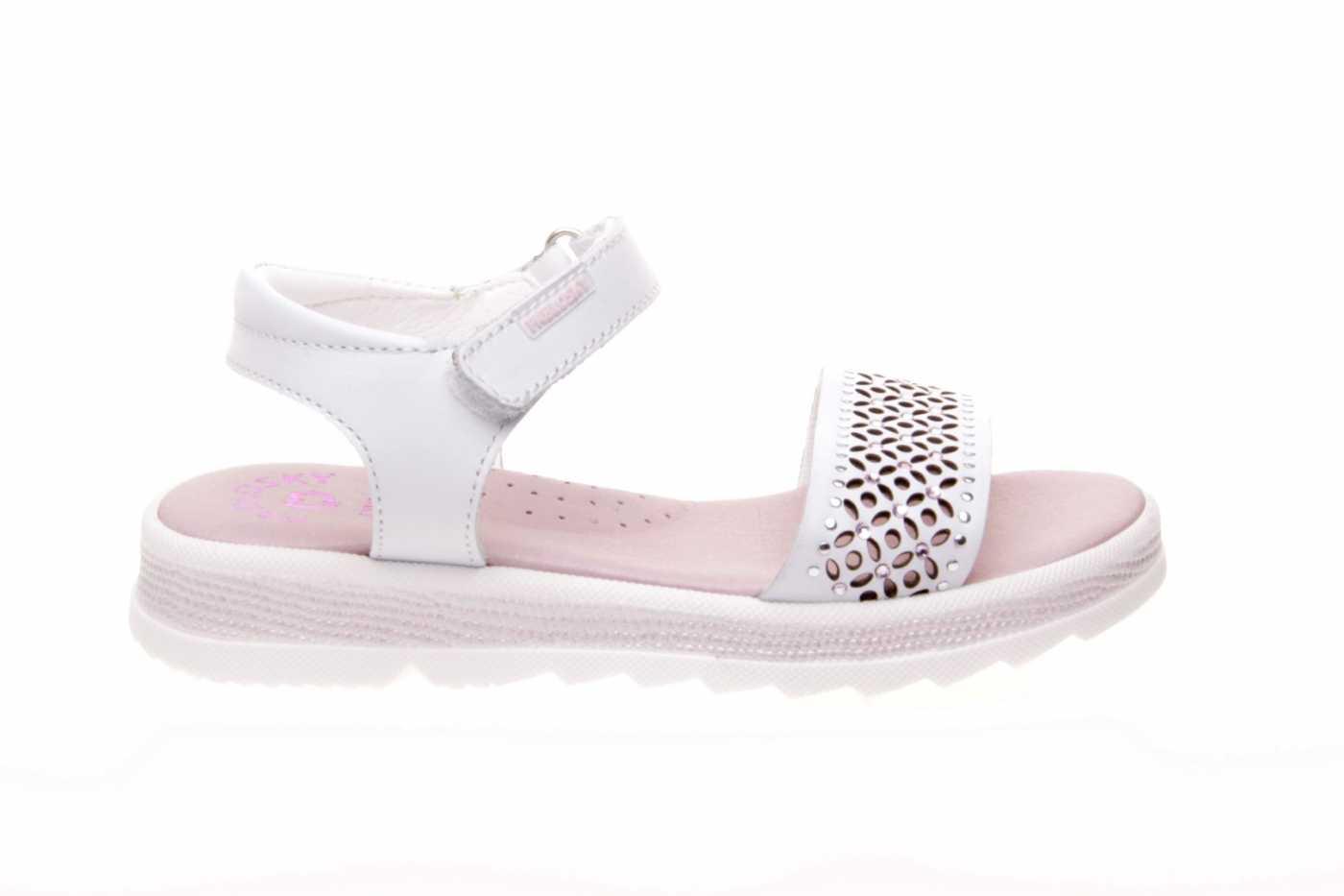 Sandalia Tipo Blanco Comprar Color Niña Zapato Joven Estilo Piel lFJTK1c3