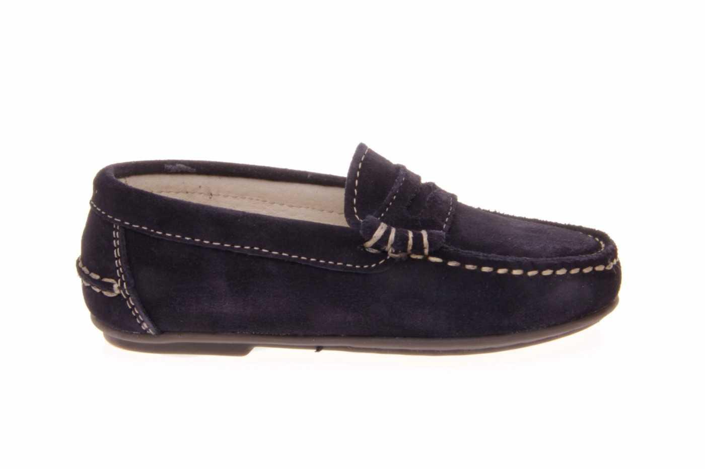 4a44996f Comprar zapato tipo JOVEN NIÑO estilo MOCASIN COLOR AZUL MARINO ...