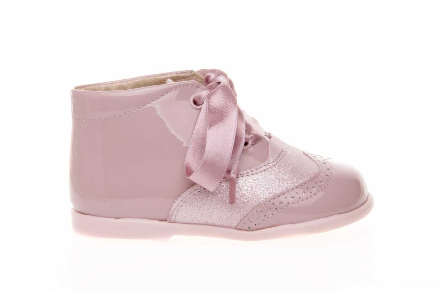 a034b17fb Comprar zapato tipo PREANDANTE NIÑO estilo BOTAS COLOR ROSA CHAROL ...