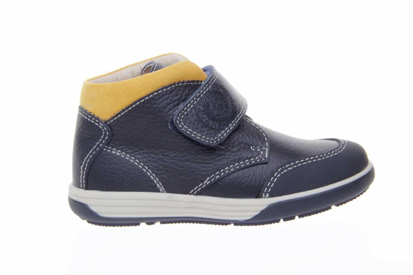 266e8c31a Comprar zapato tipo JOVEN NIÑO estilo BOTAS COLOR AZUL MARINO PIEL ...
