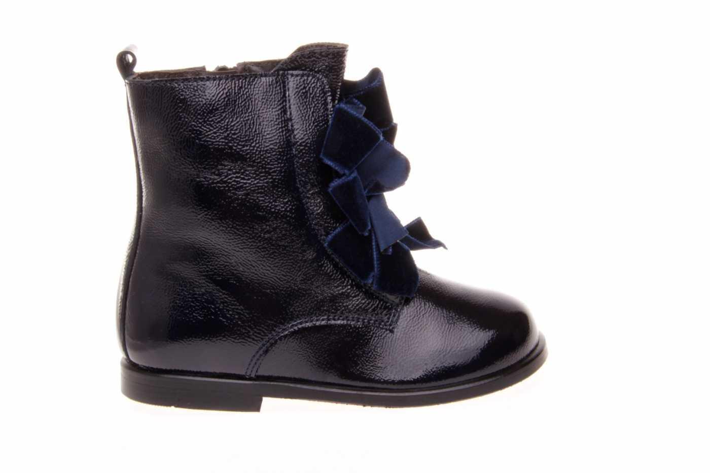 acaef37bd Comprar zapato tipo JOVEN NIÑA estilo BOTAS COLOR AZUL CHAROL