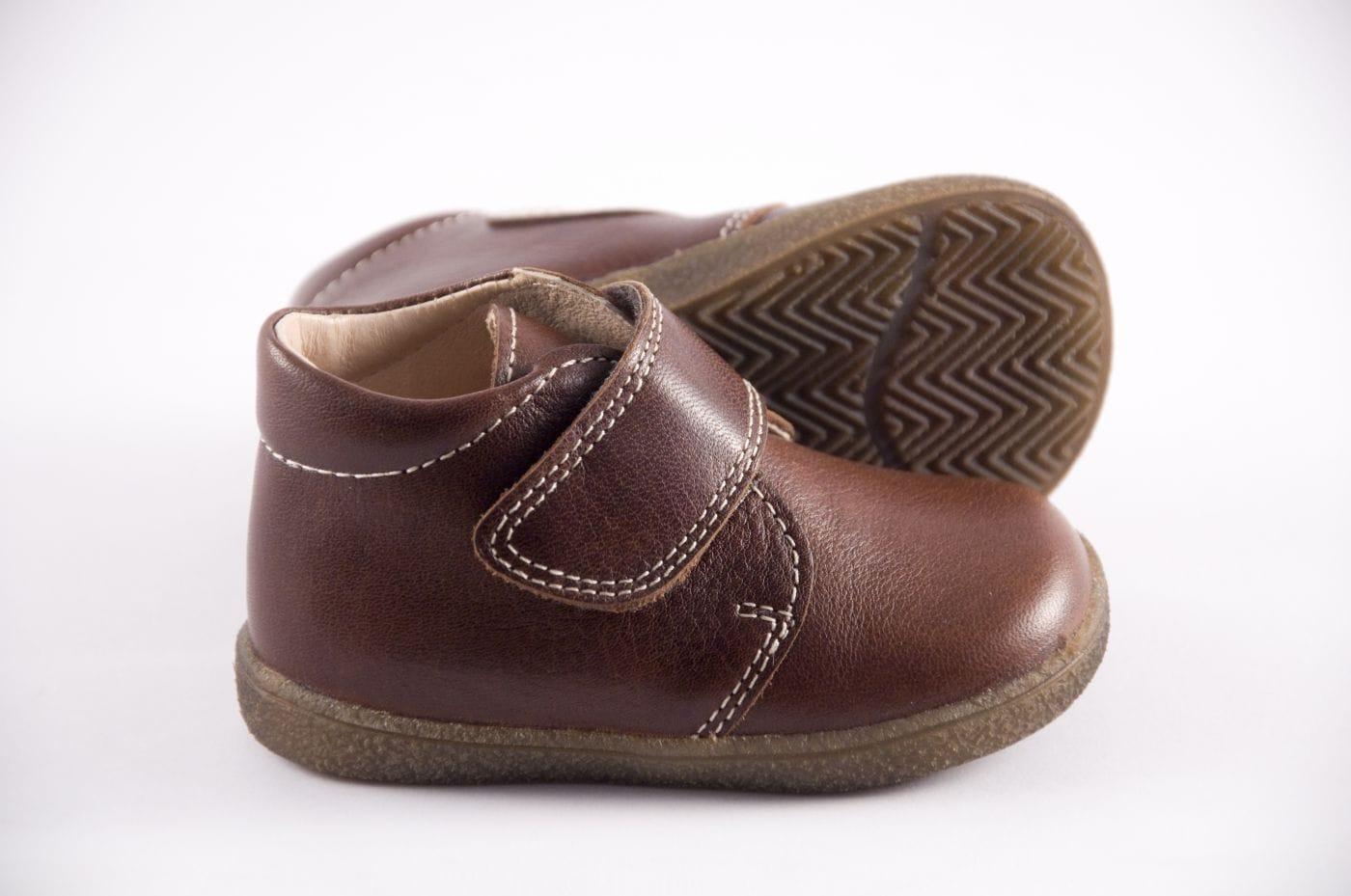 9ef034f5e98 Comprar zapato tipo PREANDANTE NIÑO estilo BOTAS COLOR MARRON PIEL ...