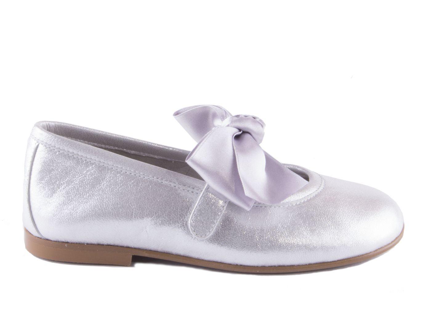 aad2936c Comprar zapato tipo JOVEN NIÑA estilo MERCEDES COLOR PLATA ...