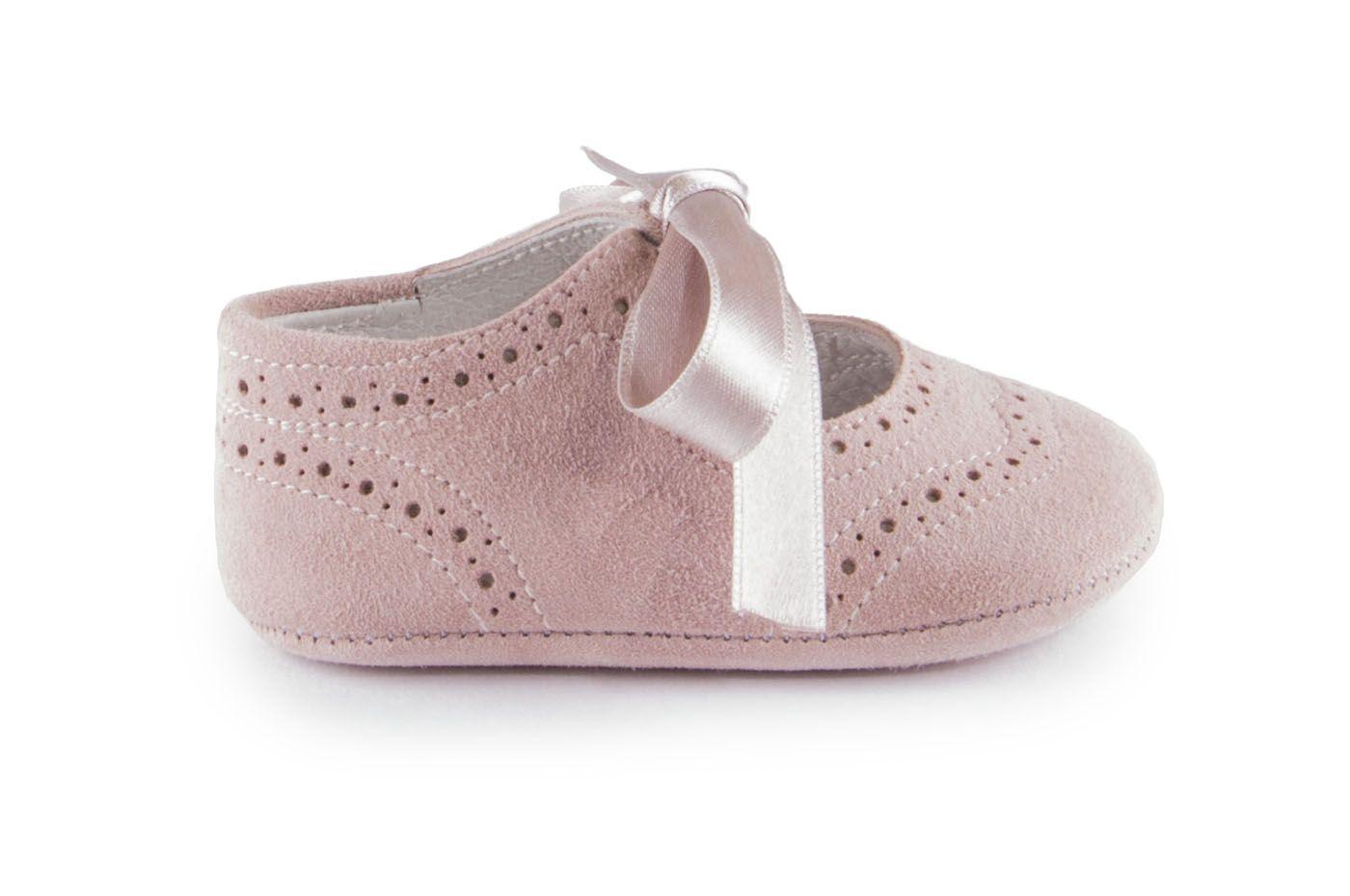 90375ae26 Comprar zapato tipo BEBE NIÑA estilo MERCEDES COLOR ROSA ANTE ...