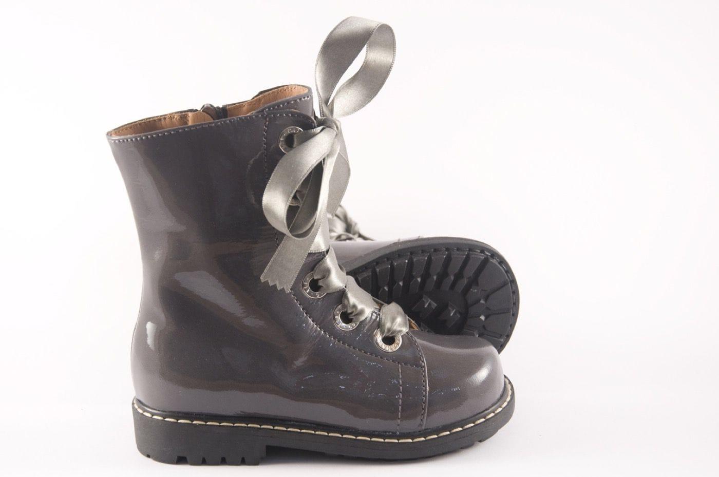 4d82318a44d Bota Zapato Comprar Botines Alta Color Gris Tipo Joven Estilo Niña nYRBfqR6