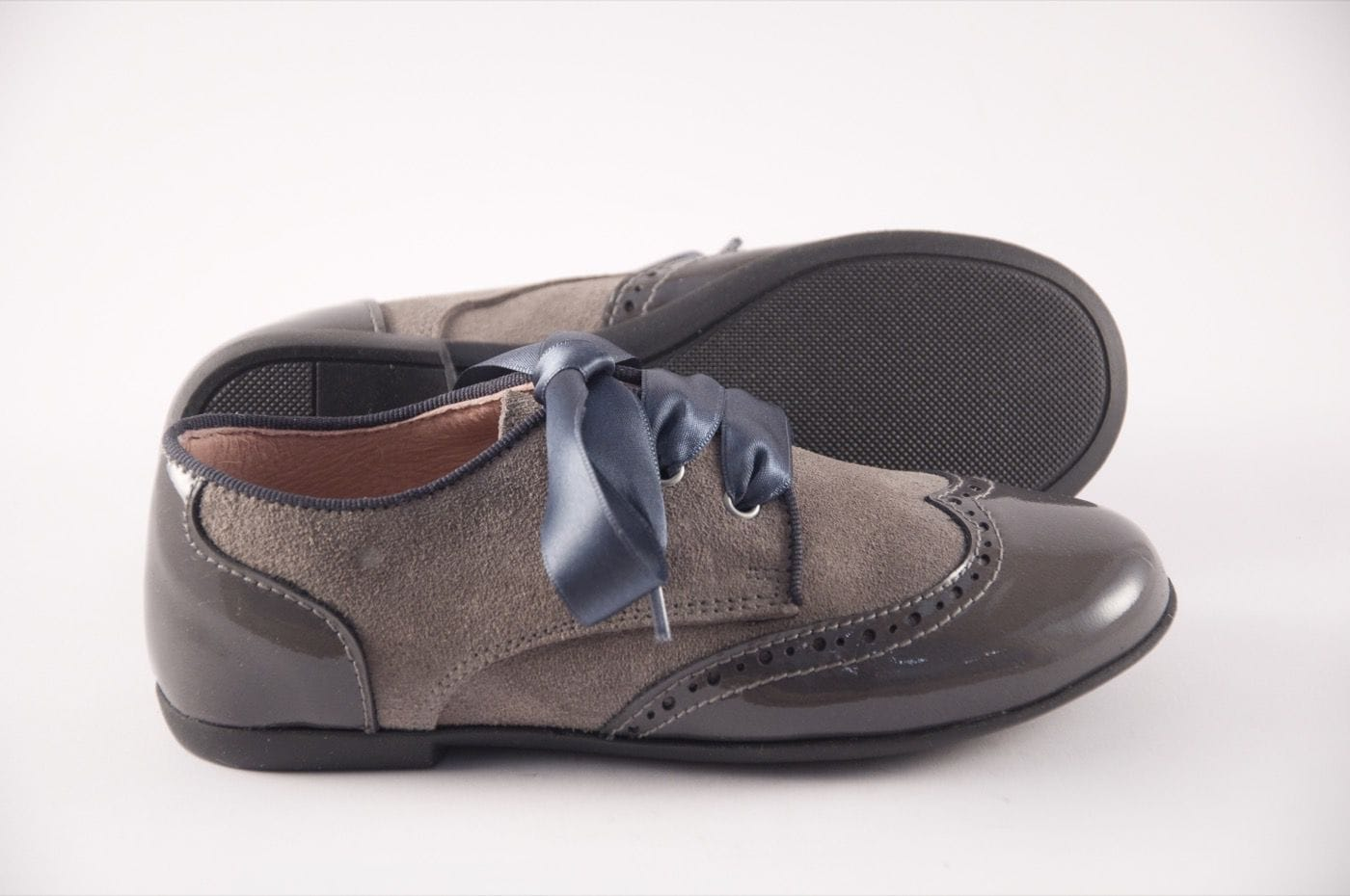 d5de566370b Blucher Zapato Color Charol Niña Tipo Estilo Gris Joven Comprar wzgdXUqX