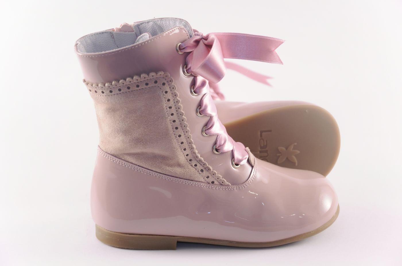 a383bdd026 Comprar zapato tipo JOVEN NIÑA estilo BOTAS COLOR ROSA CHAROL ...