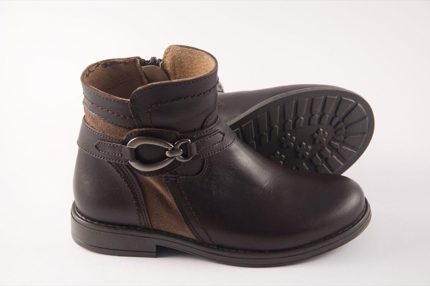 35804e3dba5 Comprar zapato tipo JOVEN NIÑA estilo BOTINES-BOTA ALTA COLOR MARRON ...
