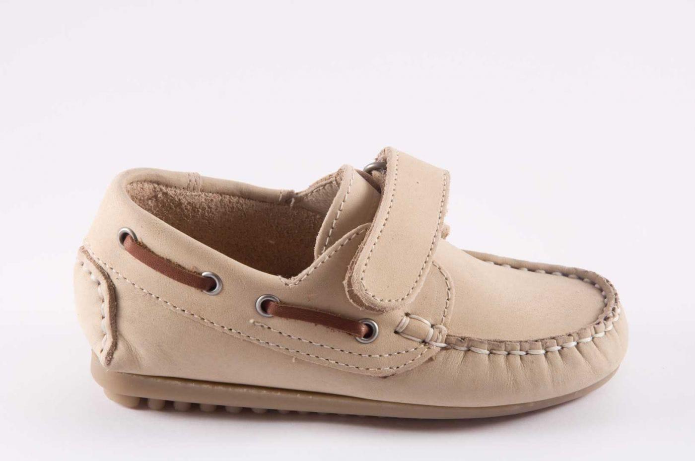909f3cd493b Comprar zapato tipo JOVEN NIÑO estilo NAUTICO COLOR BEIGE PIEL ...