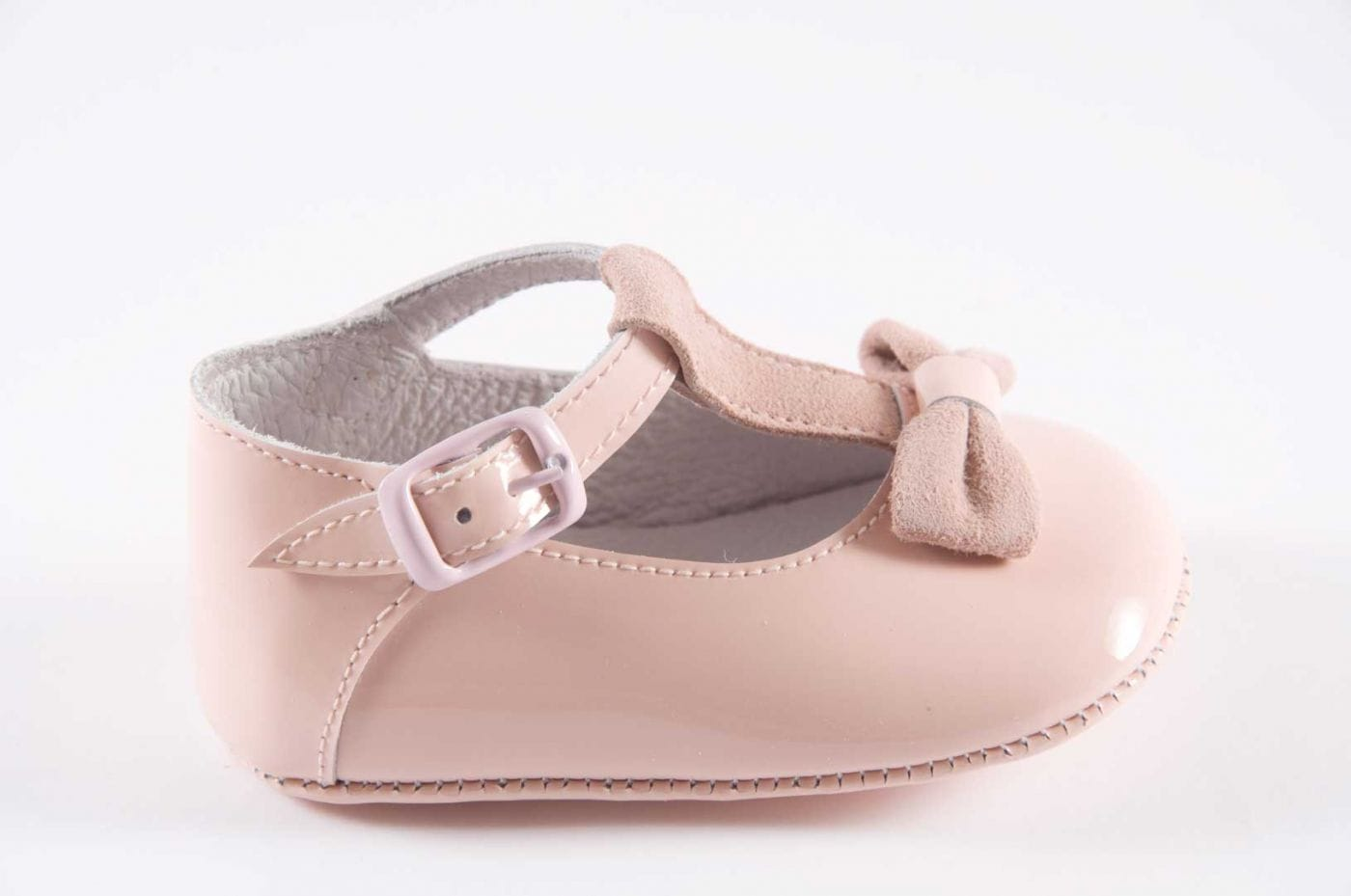 d2d7c20f Comprar zapato tipo BEBE NIÑA estilo MERCEDES COLOR ROSA CHAROL ...
