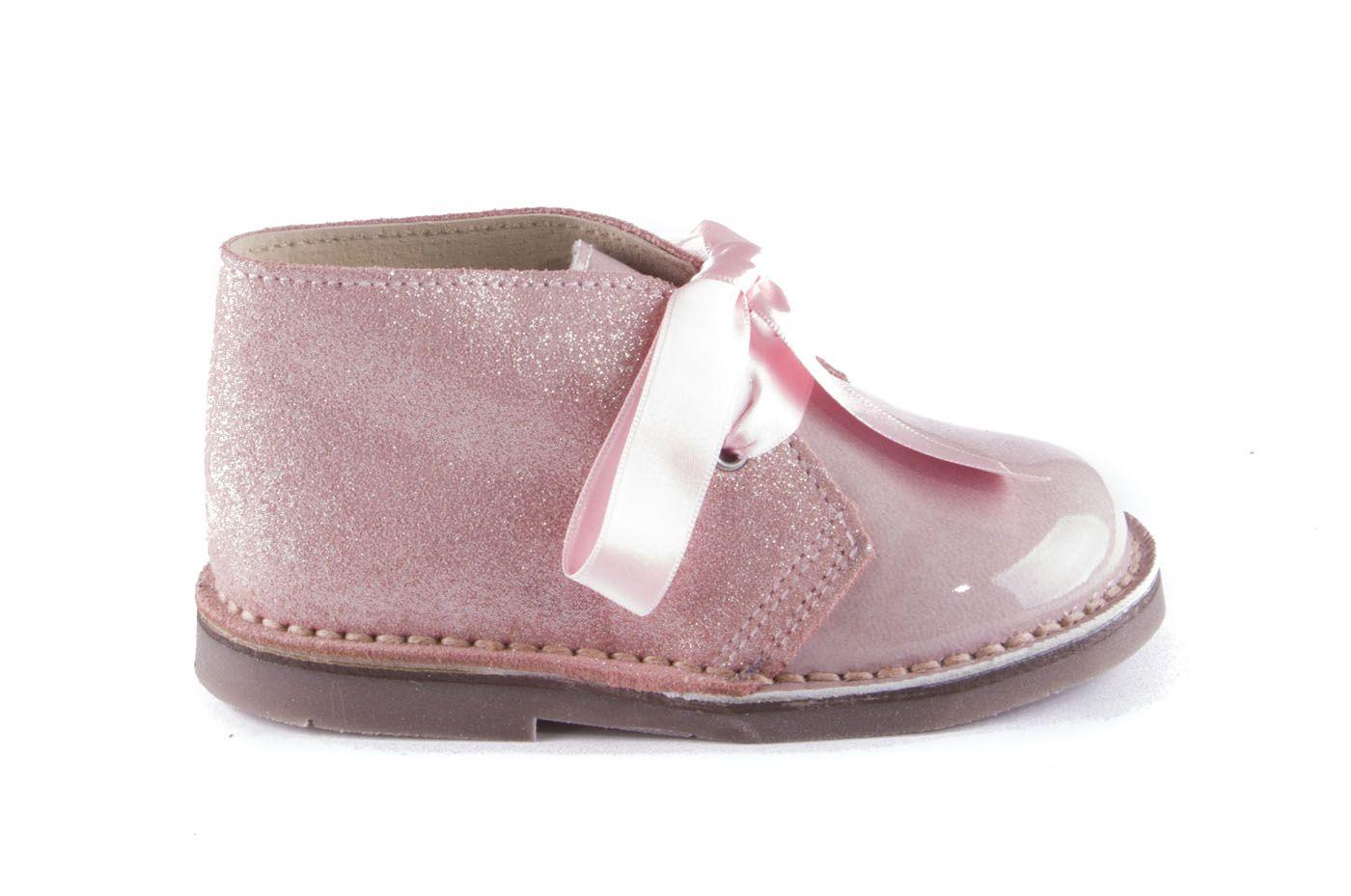 3c69b1c3bb Comprar zapato tipo JOVEN NIÑA estilo BOTAS COLOR ROSA CHAROL