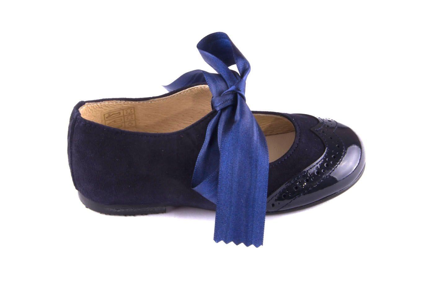 a651a5eaeaea8 Comprar zapato tipo JOVEN NIÑA estilo MERCEDES COLOR AZUL CHAROL ...