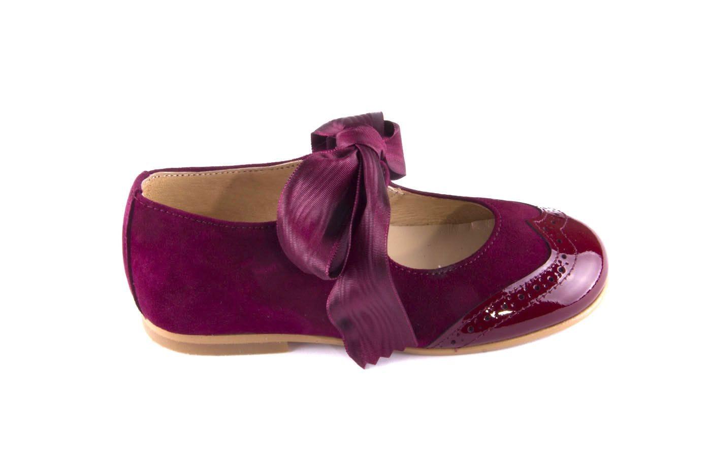 a4630b6a3142f Comprar zapato tipo JOVEN NIÑA estilo MERCEDES COLOR BURDEOS CHAROL ...