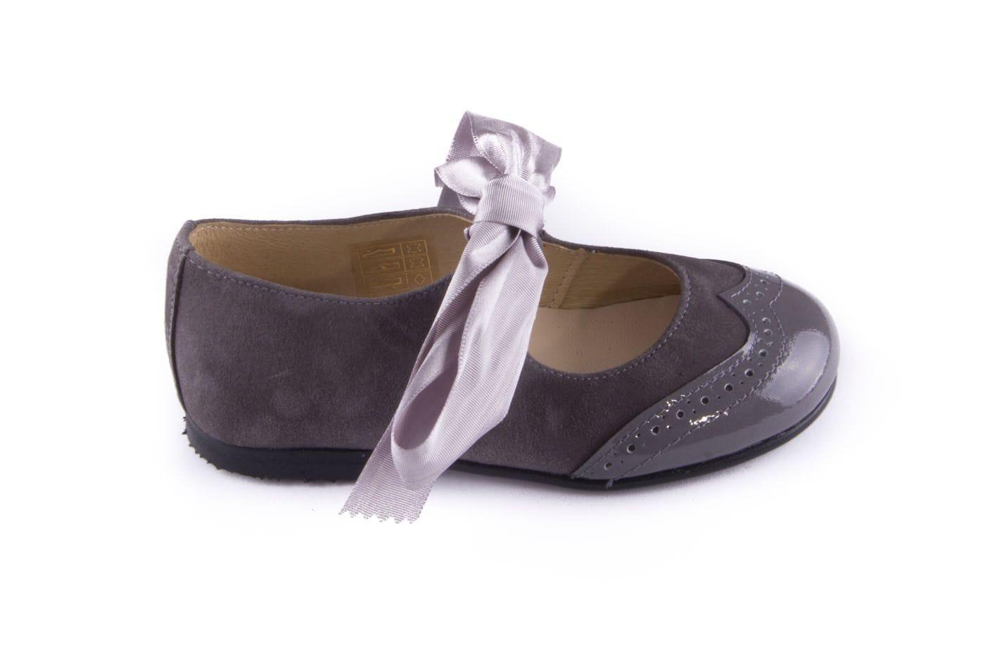 cd373a5a68dd8 Comprar zapato tipo JOVEN NIÑA estilo MERCEDES COLOR GRIS CHAROL ...