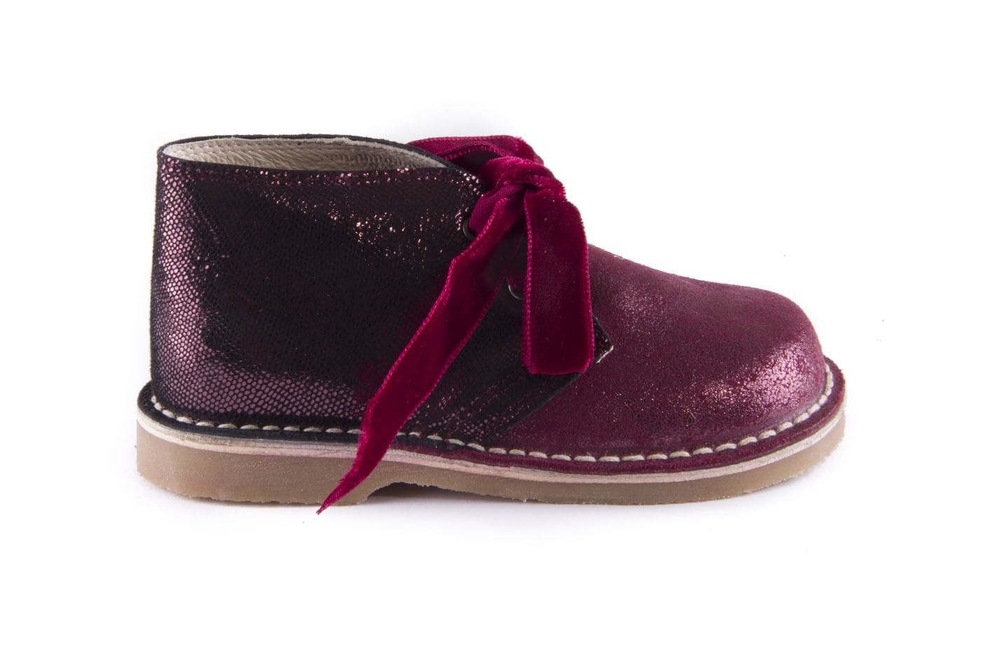 4253e9f8f Comprar zapato tipo JOVEN NIÑA estilo BOTAS COLOR BURDEOS ANTE ...