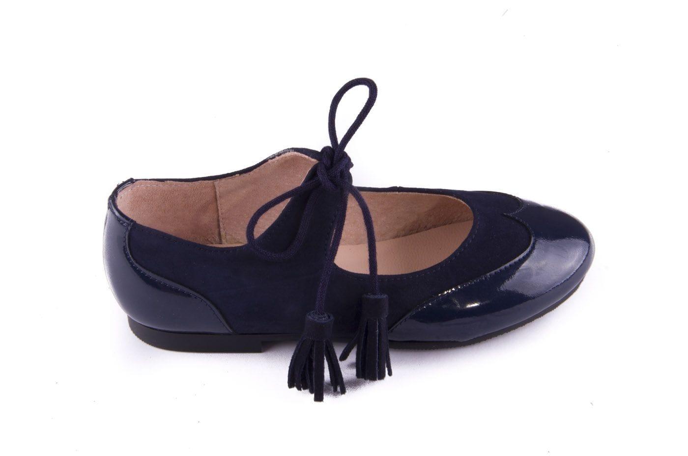 ee152978 Comprar zapato tipo JOVEN NIÑA estilo MERCEDES COLOR AZUL MARINO ...