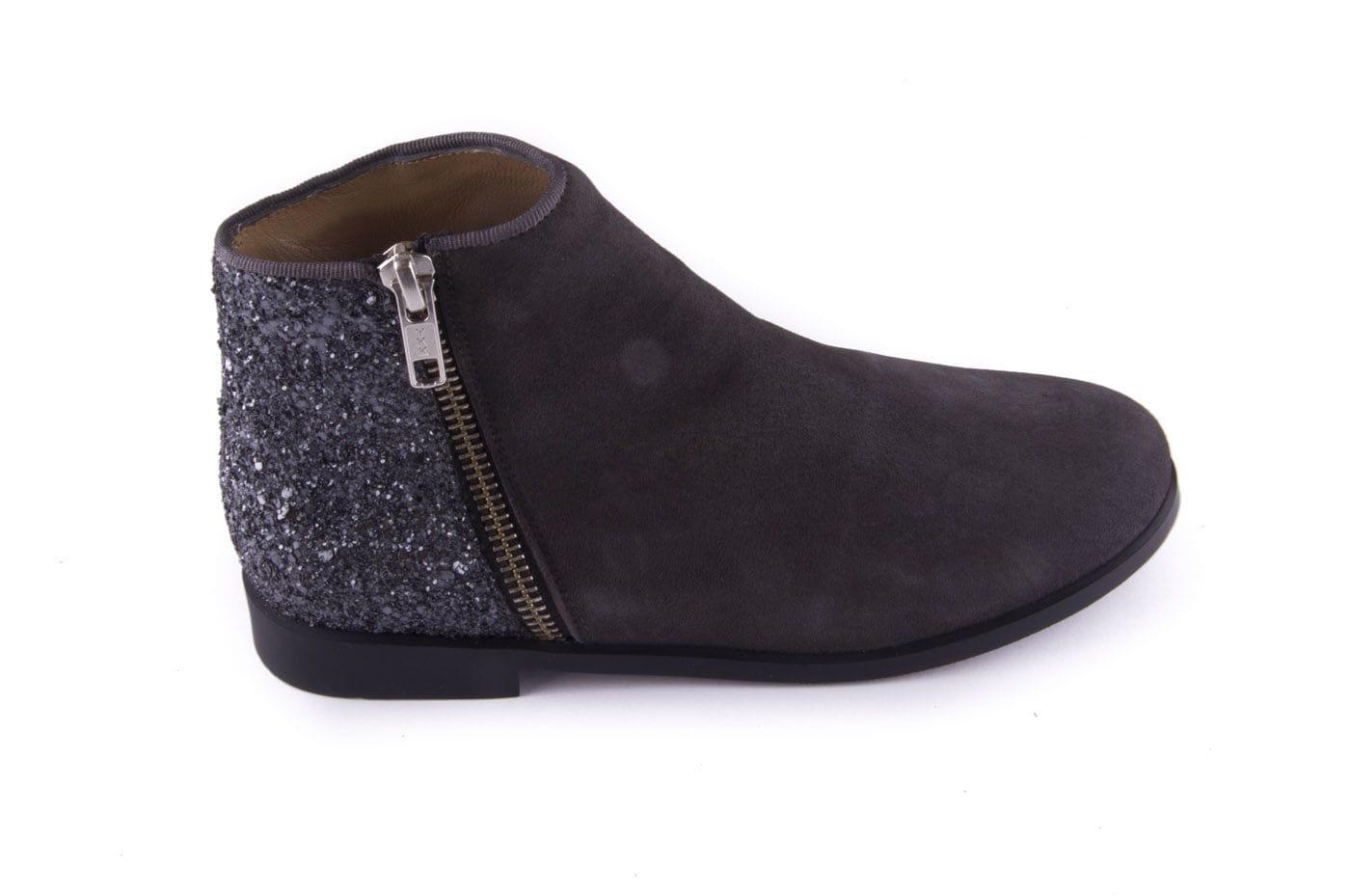 447867de Comprar zapato tipo JOVEN NIÑA estilo BOTINES-BOTA ALTA COLOR GRIS ...