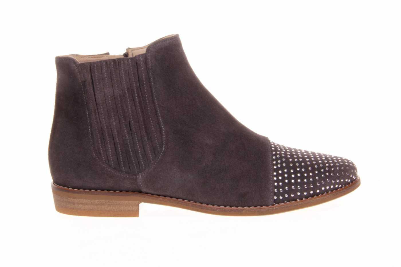 bfa9d792832 Comprar zapato tipo JOVEN NIÑA estilo BOTINES-BOTA ALTA COLOR GRIS ...
