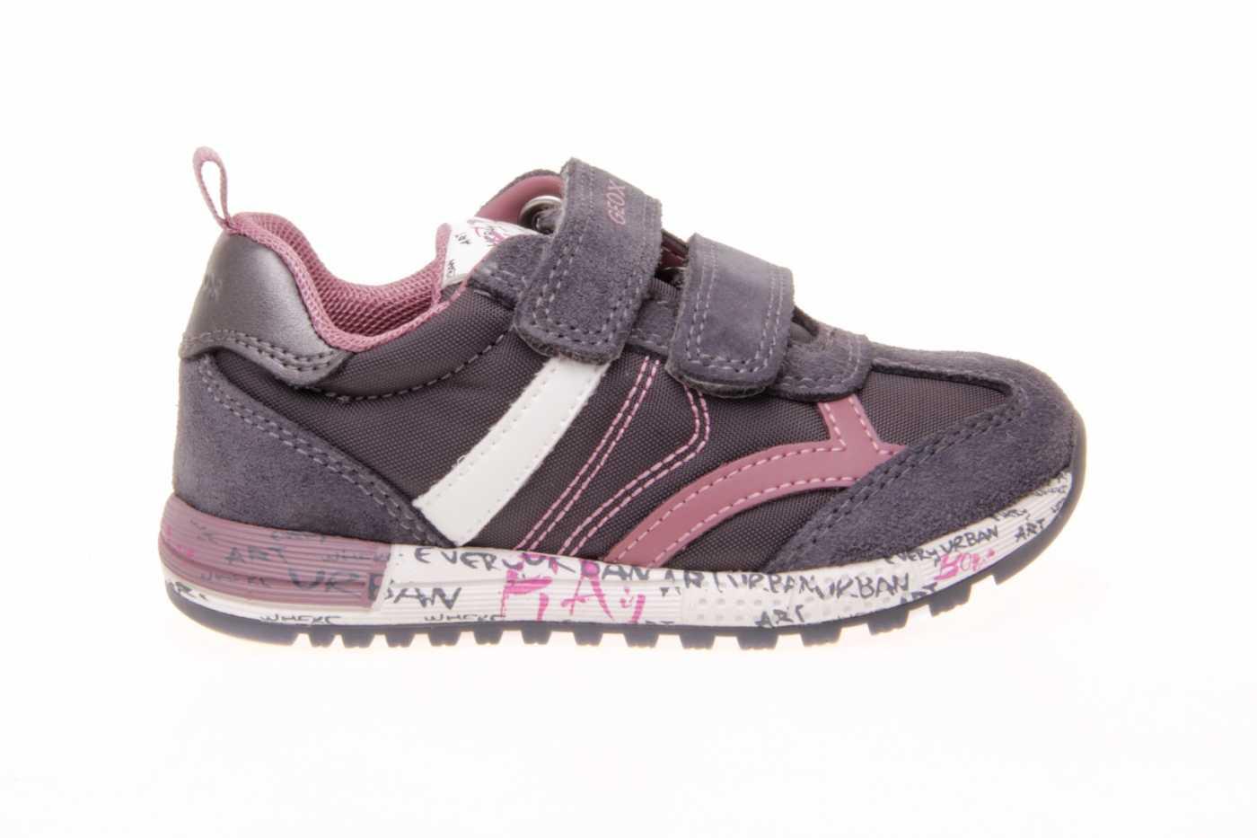 caldera frecuentemente Estimado  Comprar zapato GEOX para JOVEN NIÑA estilo BLUCHER color GRIS PIEL